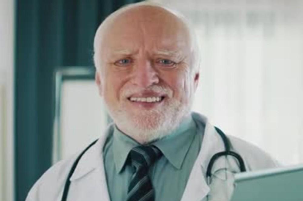 Create Meme Harold Hide The Pain Harold Doctor Grandfather