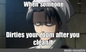 Funny Snk Shingeki No Kyojin Attack On Titan Zoe Hanji Cleaning