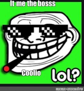 Create Meme Troll Face On Green Screen Little Face Trollface