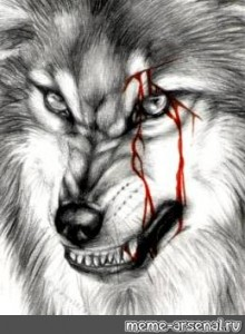Create Meme Way Brend The Wolf With The Scar Grin Pattern Bad