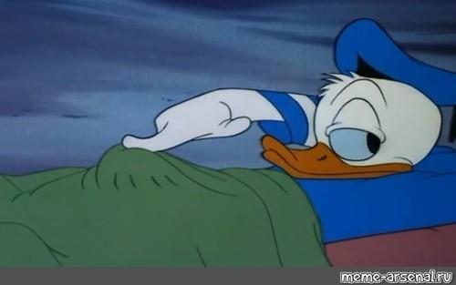 Donald Duck Meme Drawing Free Image