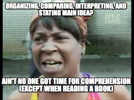 Meme Creator Funny Organizing Comparing Interpreting And