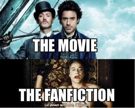 Meme Creator Funny The Movie The Fanfiction Meme Generator At