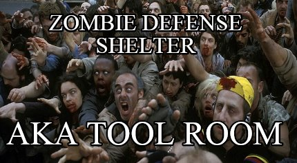 I I M Out Of The Old Slum Desperate Zombie Meme Generator