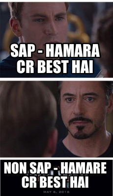 Meme Creator Funny Sap Hamara Cr Best Hai Non Sap Hamare Cr