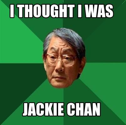 Meme Generator Uncle Jackie Chan Magic Must Defeat Magic