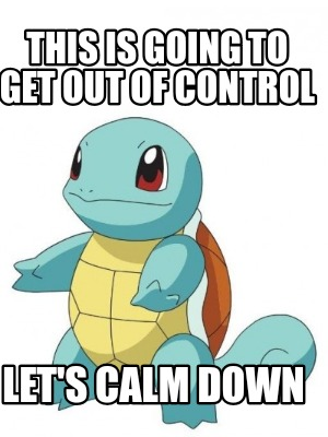Meme Calm Do I Not Look Calm I M Calm By Wolfblade111 On