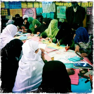 Learning to Read to Afghanistan as a Girl