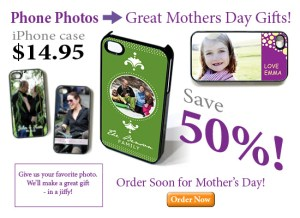 1/2 Off iPhone Cases for Mothers Day - New Online Ordering