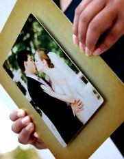 Wedding Layered Metal Closeup