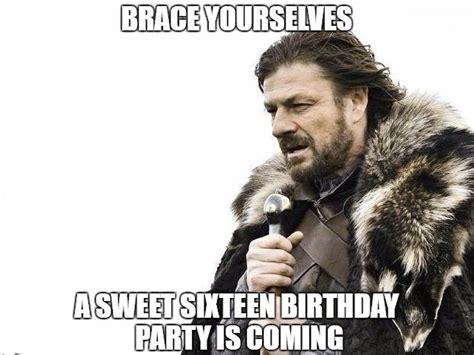 Sweet 16 Birthday Memes