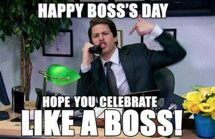 Happy boss day Memes