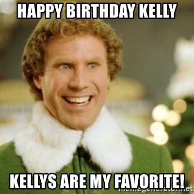 Happy Birthday Kelly Memes