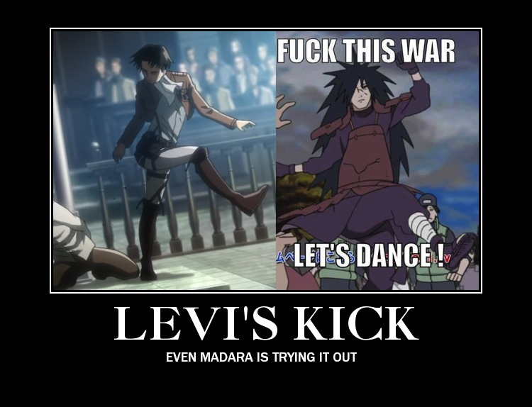 Attack On Titan Levi Memes
