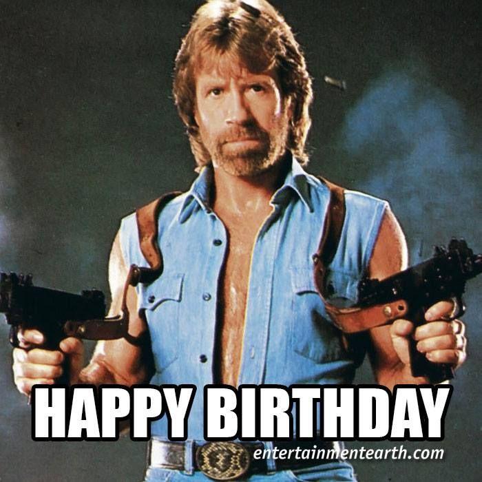 Chuck Norris Happy Birthday Memes