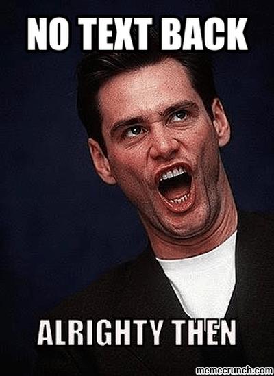 Text Back Memes