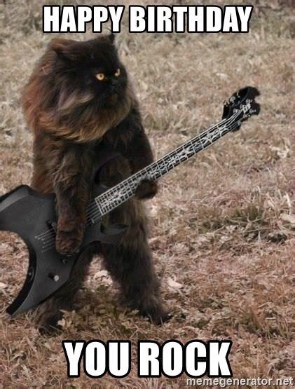 Death Metal Happy Birthday Memes
