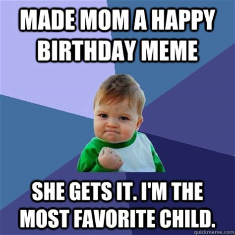 New Mom Birthday Memes