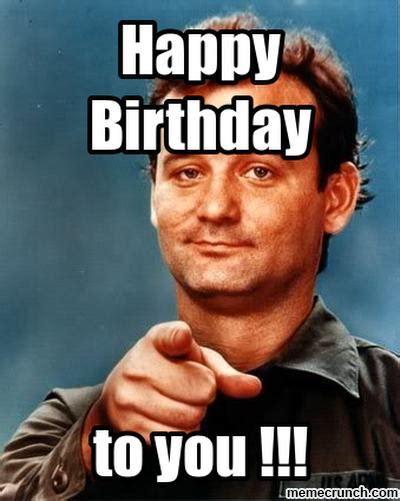 Bill Murray Birthday Memes