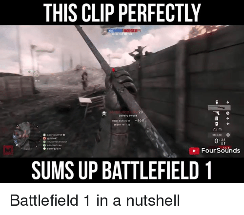 This Is How You Snipe H290 20 7 In Battlefield 1 Like Unilad