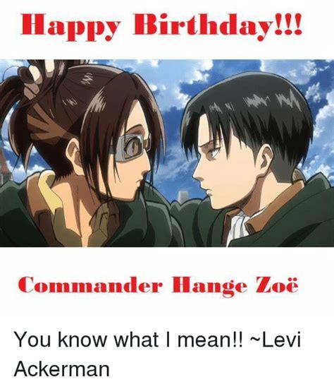 Happy Birthday Levi Memes