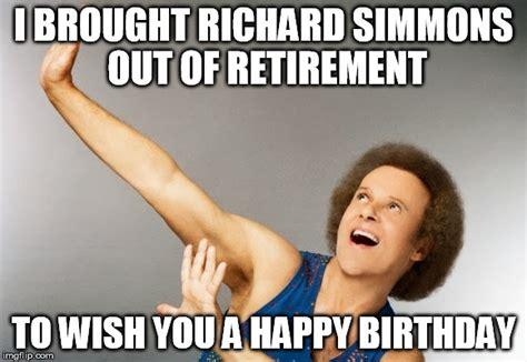 Richard Simmons Birthday Memes