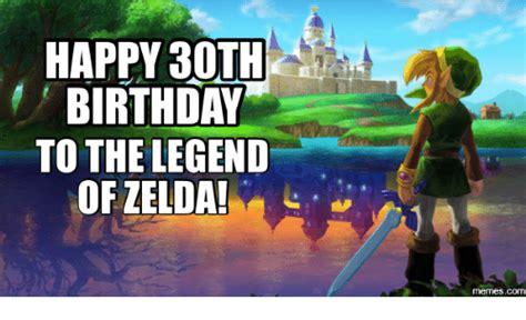 Zelda Birthday Memes