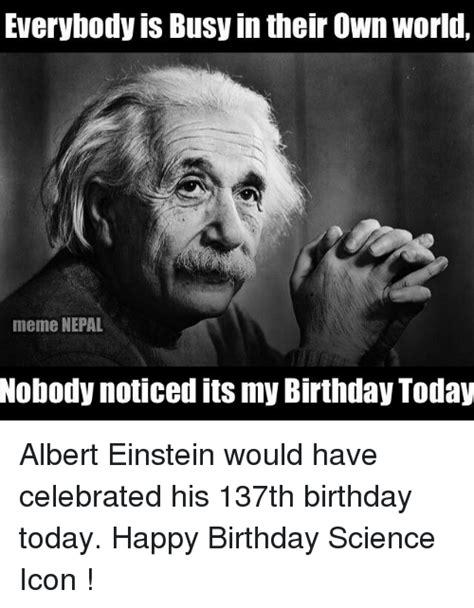 Science Birthday Memes