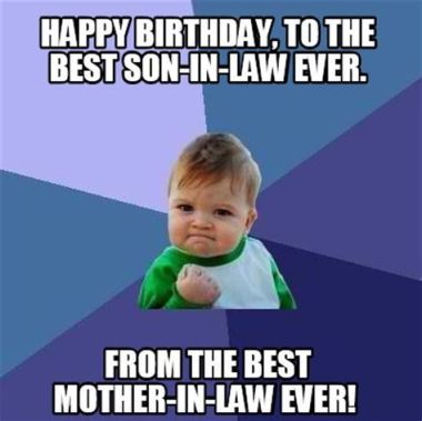 Happy Birthday Son In Law Funny Images