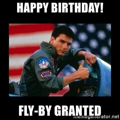 Top Gun Birthday Memes