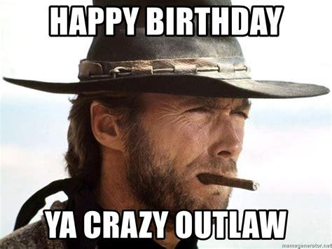 Clint Eastwood Happy Birthday Memes