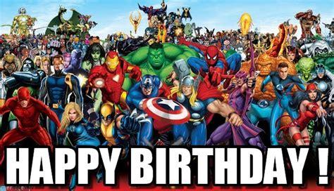 Marvel Birthday Memes