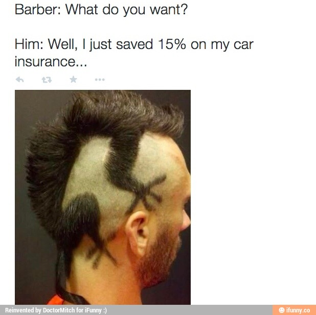 A Dumbest Kid Went In Barber Shop