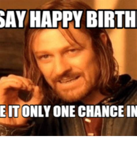 Lord Of The Rings Birthday Memes