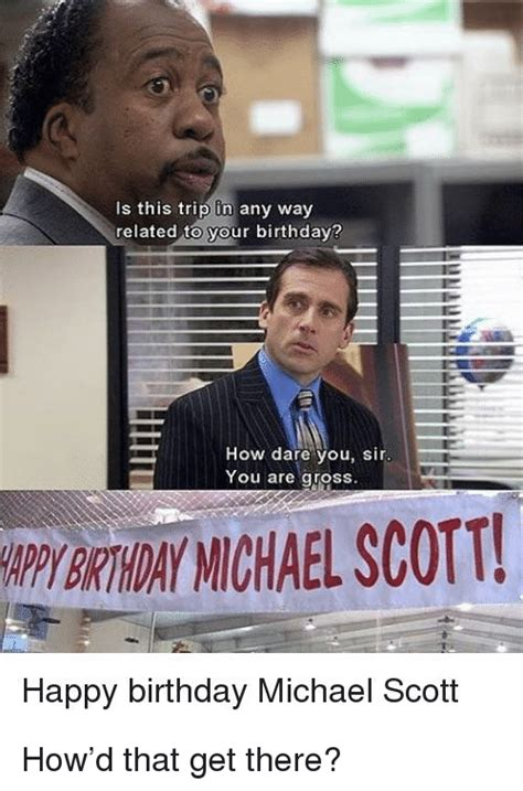 The Office Birthday Memes