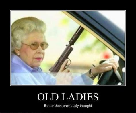 Old Lady Birthday Memes