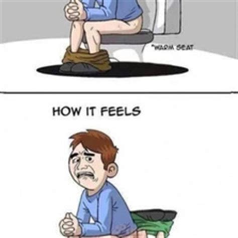 Warm Toilet Seat Memes