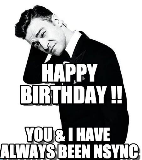 Justin Timberlake Birthday Memes