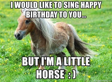 Horse Happy Birthday Memes