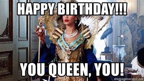 Happy Birthday Queen Memes