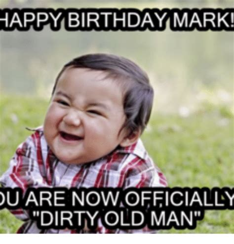 Happy Birthday Mark Memes