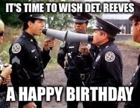 Police Birthday Memes