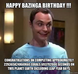 Big Bang Theory Birthday Memes