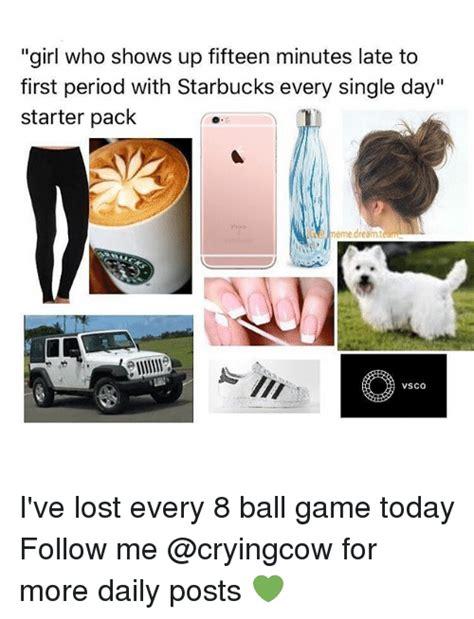 Period Starter Pack Memes