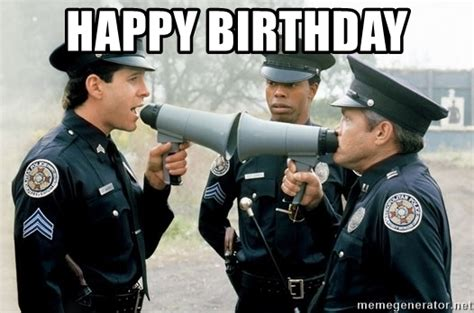 Happy Birthday Police Memes