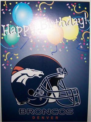 Denver Bronco Birthday Memes