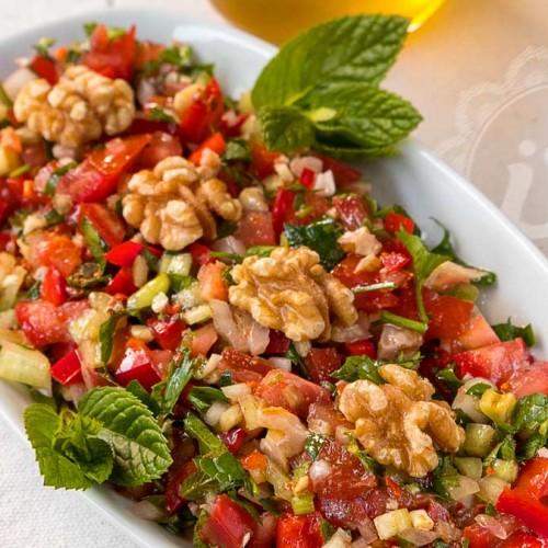 Löffel Salat