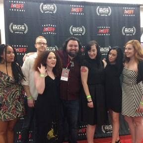 Cast and Crew for Meme lined up on the Red Carpet ahead of the Premiere