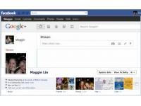 Quand Google+ s'invite dans Facebook