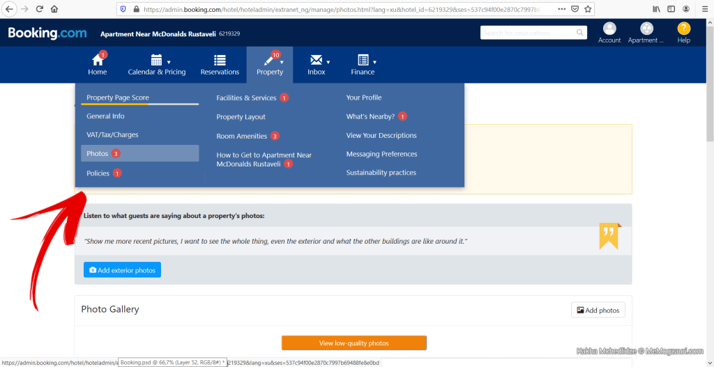 როგორ გავაქირაოთ ბინა Booking.com-ზე - მე მოგზაური